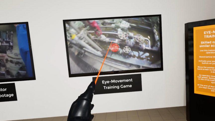 Eye Tracking training game